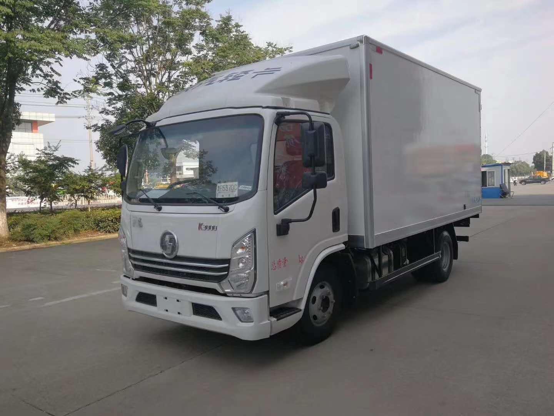 (国六)陕汽轻卡4.2米冷藏车图片