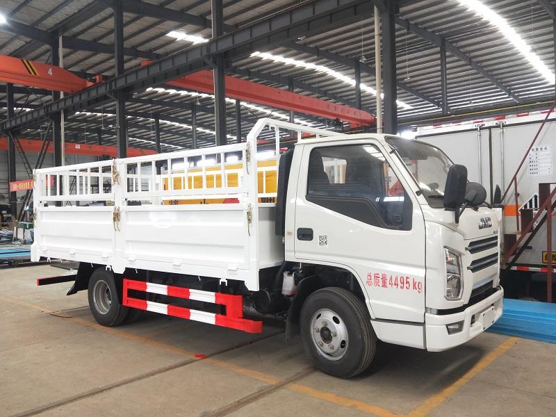 国六江铃气瓶运输车生产厂家 4.2米二类氧气瓶运输车视频视频