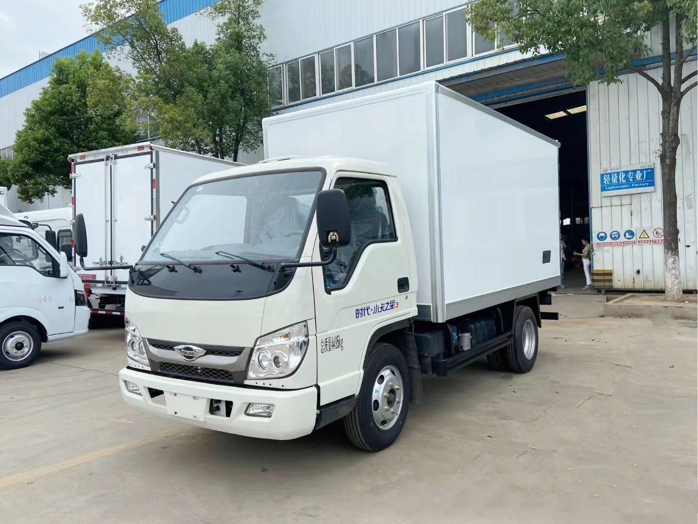 国六福田时代小卡之星3米5柴油冷藏车
