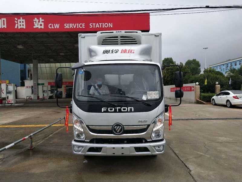深圳国六蓝牌4.2米冷藏车哪家好?