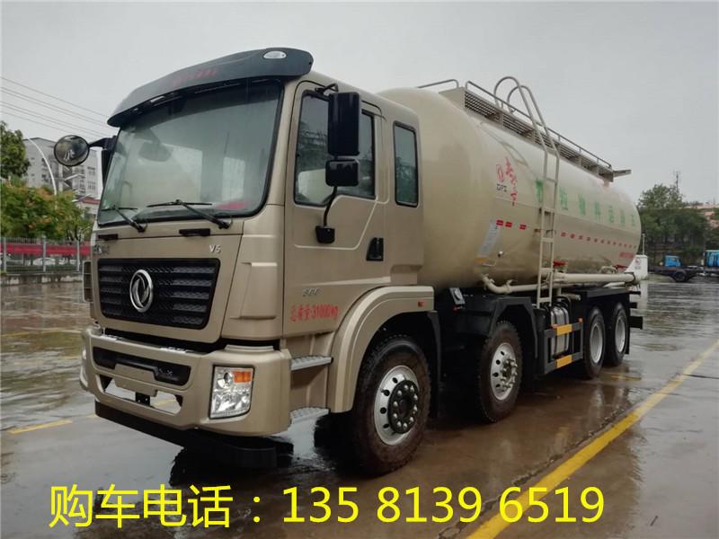 粉粒物料运输车(散装水泥车)的性能指标参数介绍