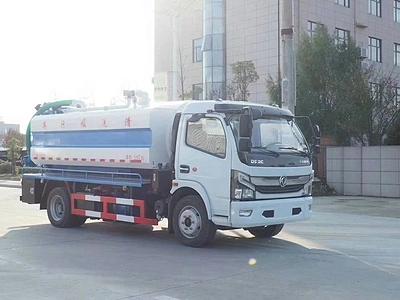 国六东风凯普特清洗吸污车 湖北环卫车生产厂家