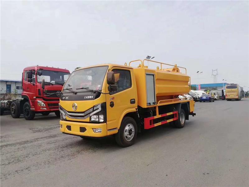 5吨6吨下水道吸污清理高压清洗污水车图片