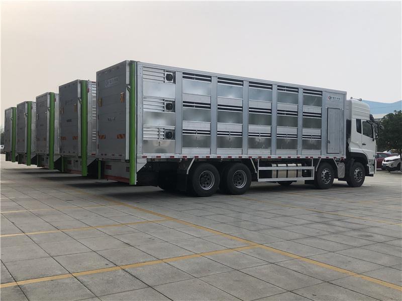 9.6米铝合金拉猪车_空调恒温拉猪车厂家价格