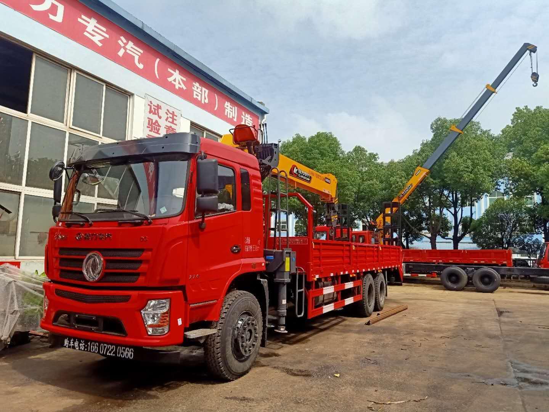东风程力随车12吨程力本部吊机