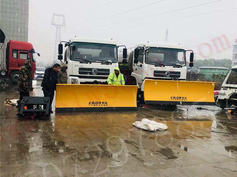 洒水车安装推雪铲需要多少钱?程力专用汽车股份有限公司
