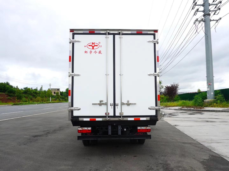 福田欧马可S5高顶双卧冷藏车视频