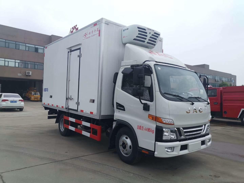 出售冷藏车江淮骏铃V5冷藏车价格图片