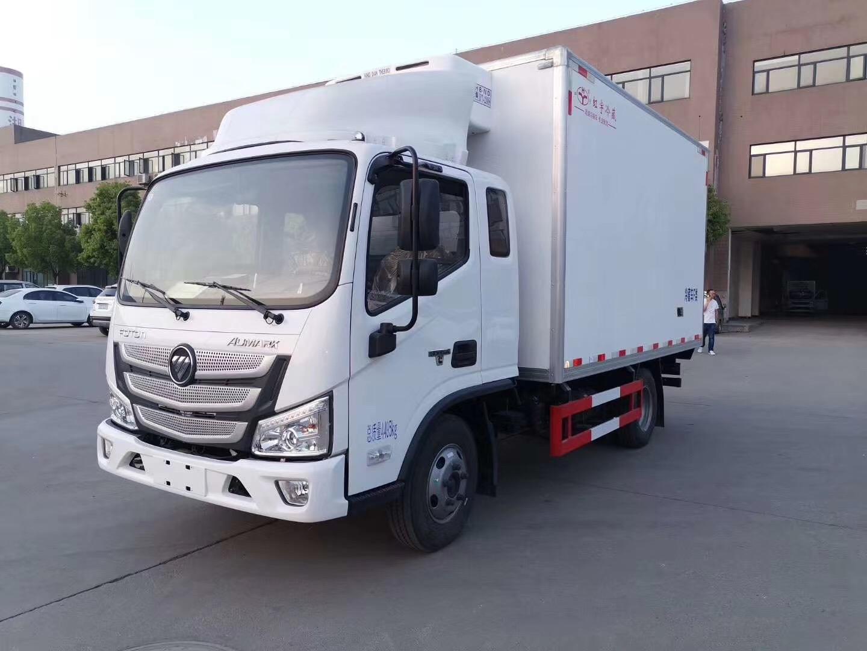 冷藏车出售福田欧马可S3冷藏车厂家直销多少钱图片