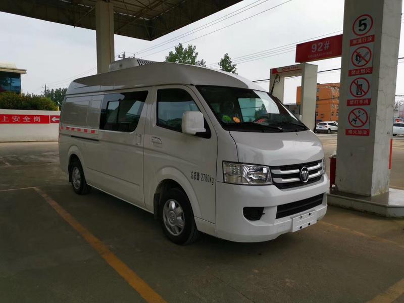国六福田G7双排面包式冷藏车市区高端冷链车首选