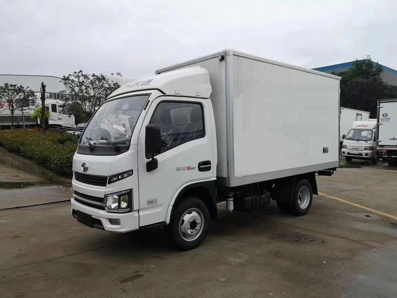 跃进小福星S80国六柴油小型冷藏车厂家