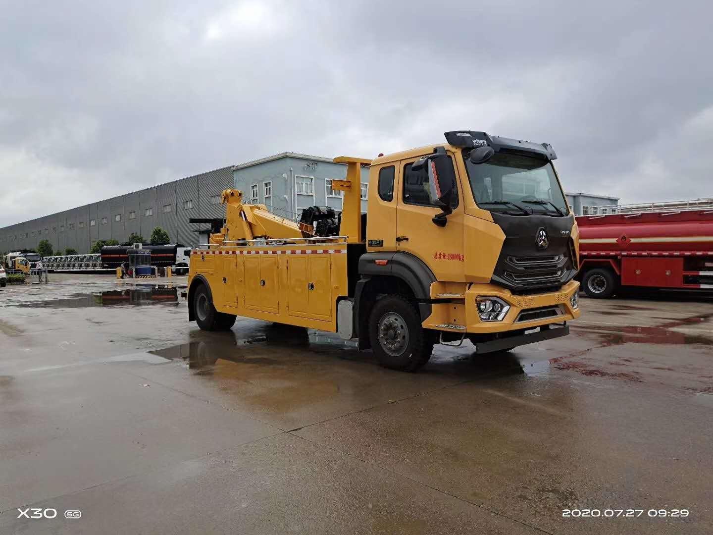 16吨大型拖车厂家重汽310马力可轻松拖载30吨车型价格