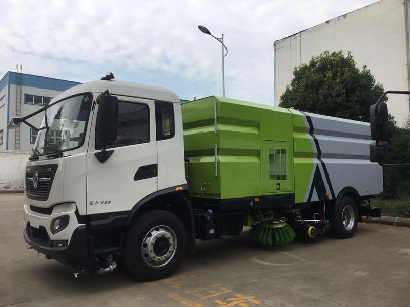 国六东风天锦高端洗扫车|市政环卫首选车型