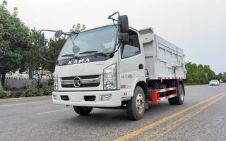 帝王环卫牌HDW5040ZDJK6型压缩式对接垃圾车图片