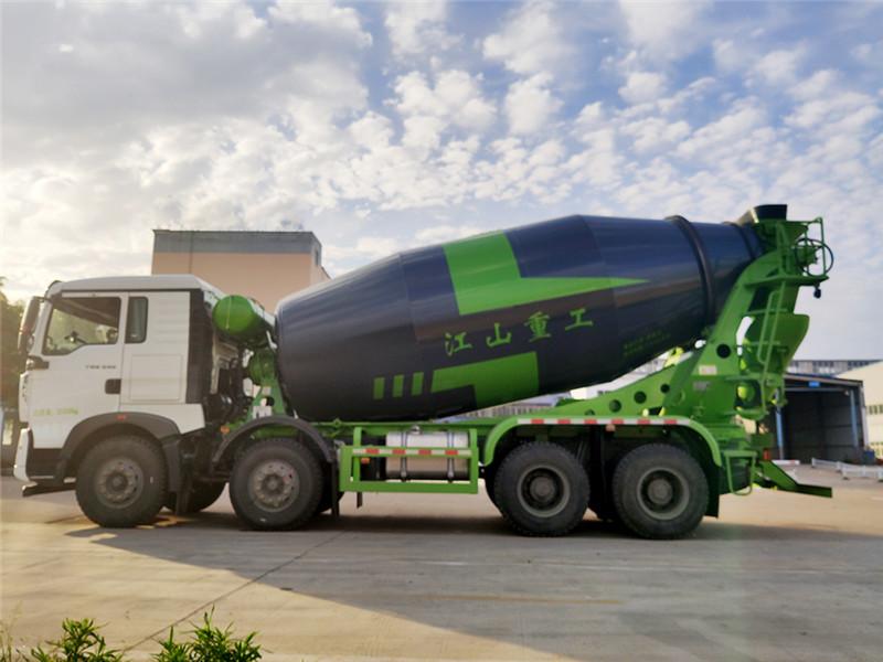 国六重汽豪沃TX轻量化搅拌车10方罐厂家价格视频