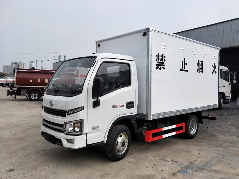 国六跃进3.3米柴油版危险品货车生产厂家 营运安全达标视频