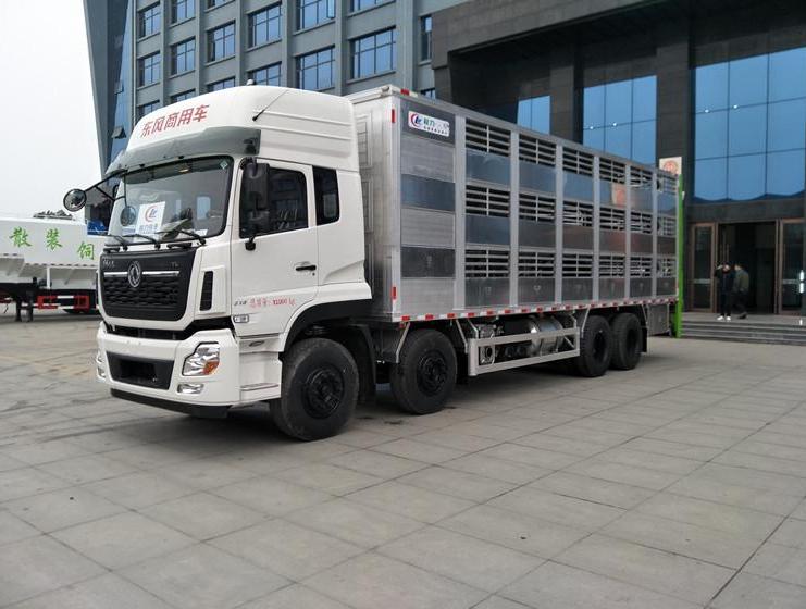 春风天龙9.6米铝合金畜禽运输车