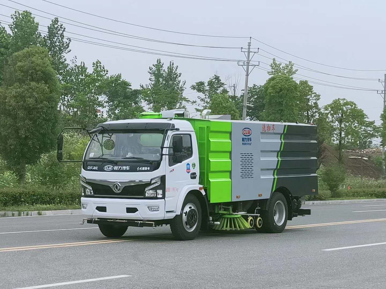 国六东风洗扫车厂家视频