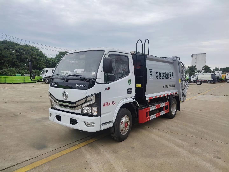 国六6方压缩垃圾车东风多利卡厂家推荐图片