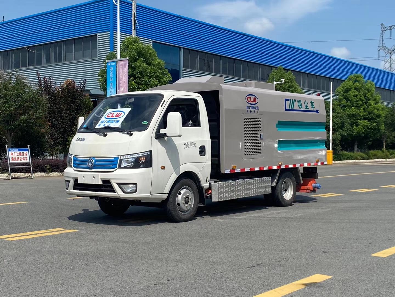 东风纯电动吸尘车蓝牌C证可开图片