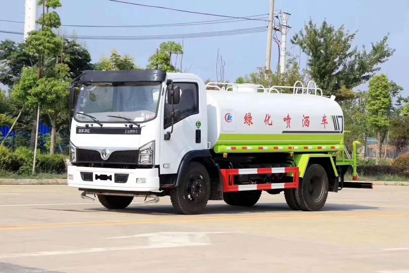 广西国六洒水车