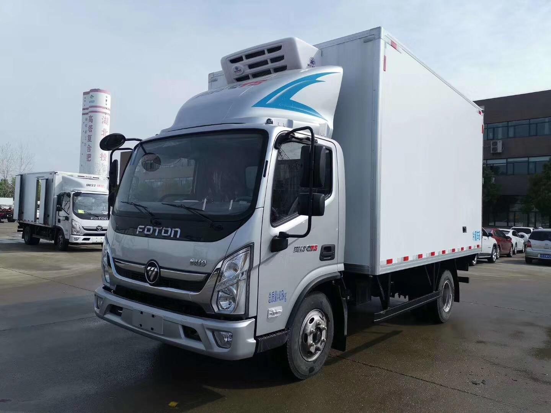 全国可做分期,福田4.2米冷藏车最低多少钱?