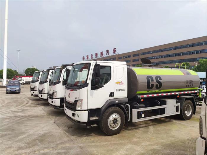 东风柳汽乘龙L3容积14吨国六洒水车绿化喷洒车