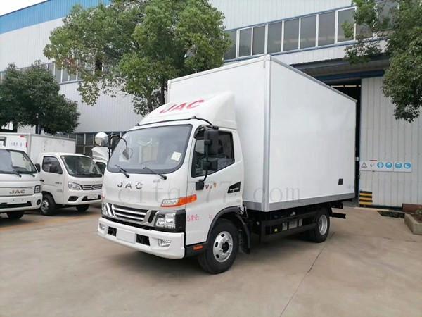 国六江淮骏铃V6冷藏车厂家直销