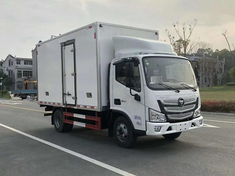 国六福田欧马可4.2米冷藏车厂家直销图片