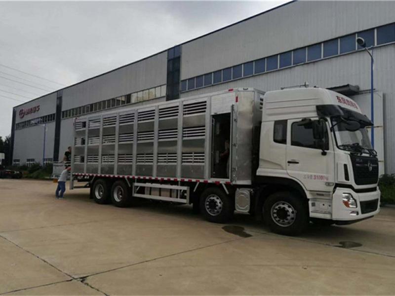 河北张家口畜禽运输车,铝合金畜禽运输车厂家报价直销