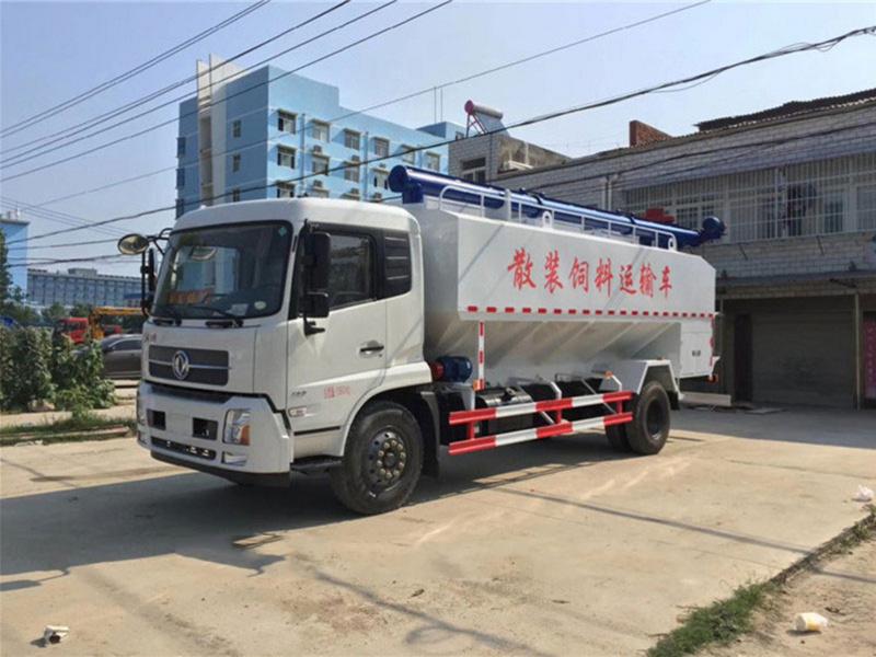 东风天锦22方散装饲料车报价_价格_配置_厂家