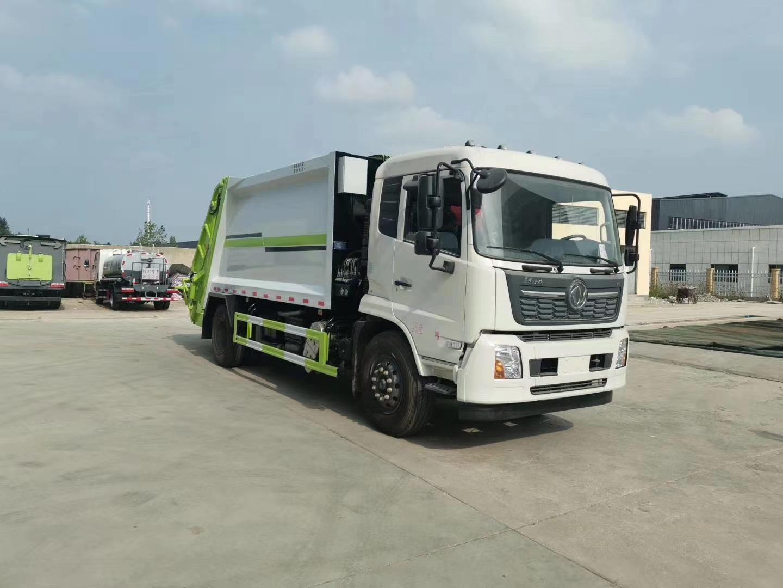 东风天锦国六压缩垃圾车图片
