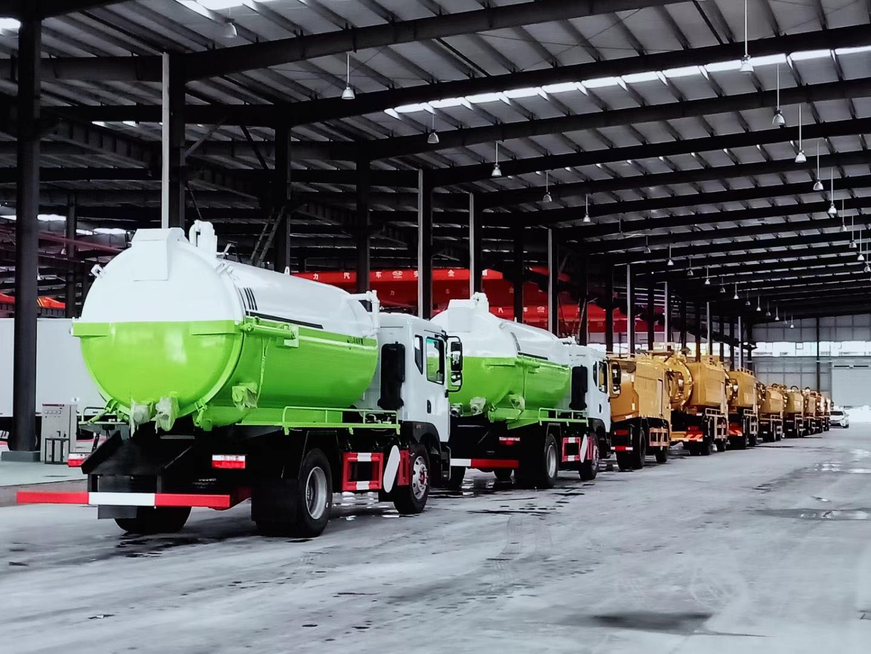 国六各种吸污车联合疏通车厂家直销图片