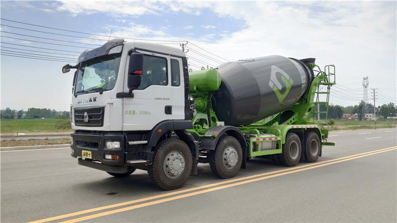 混凝土泵车价格 轻量化搅拌车 生产厂家 12方搅拌车视频