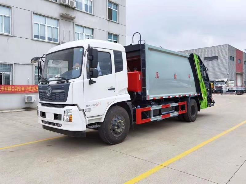 國六14方壓縮垃圾車價格多少錢可上圖片