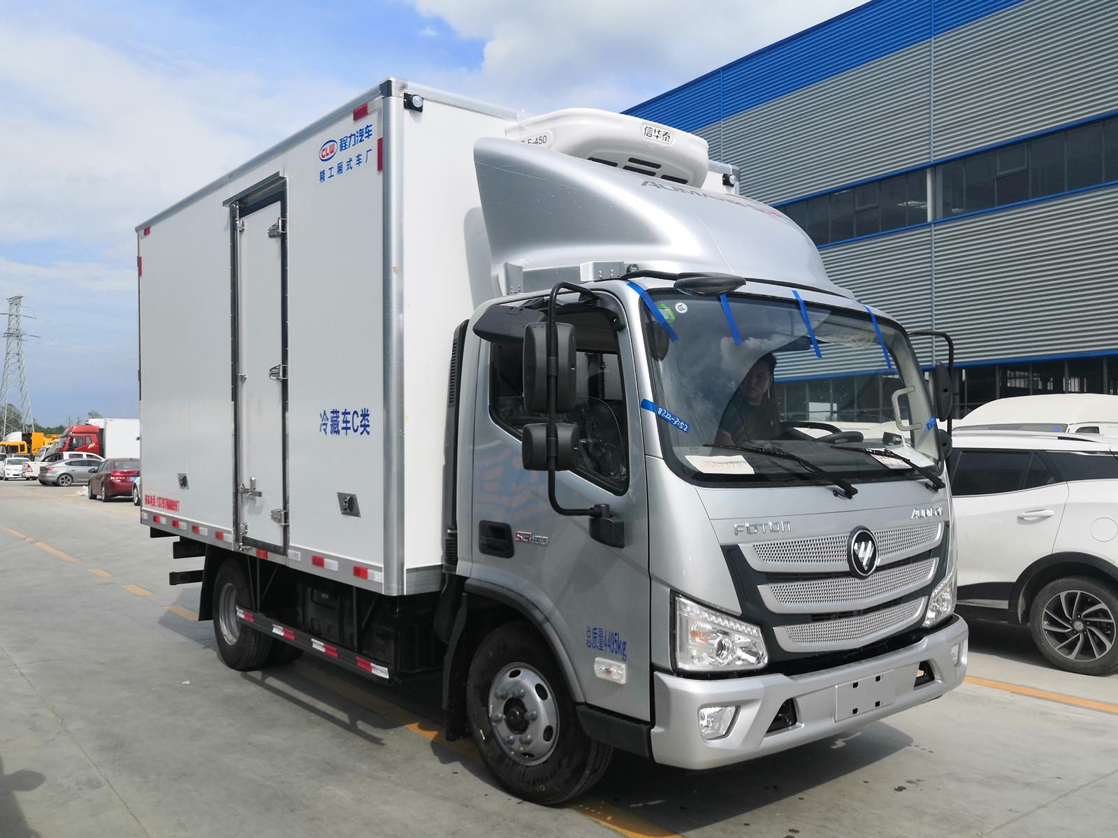 福田欧马可S1宽体冷藏车(国六)