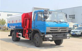 东风145-12吨挂桶式垃圾车图片
