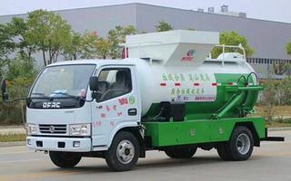 东风多利卡5吨餐厨垃圾车D6图片