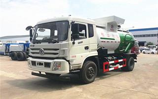 东风多利卡10吨餐厨垃圾车D913图片