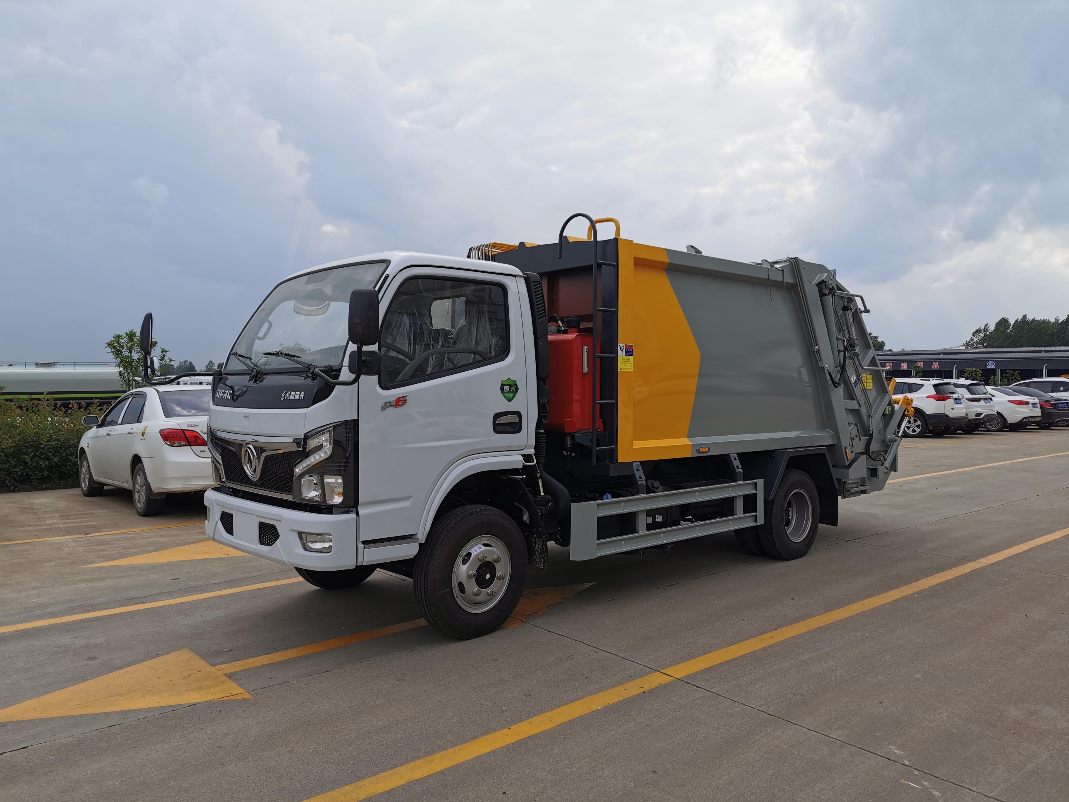 东风多利卡蓝牌压缩垃圾车,可以上蓝牌,不超重图片