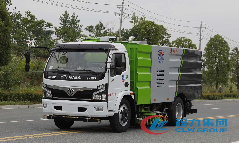 东风多利卡8吨国六洗扫车,全国各地免费服务,2年质保视频