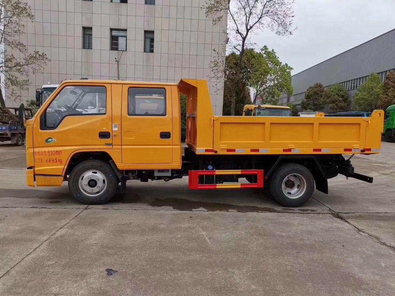 国六江铃双排自卸车厂
