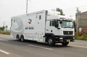 丰田考斯特通讯指挥车通讯车图片
