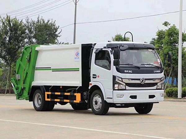 國六小型垃圾清運車價格