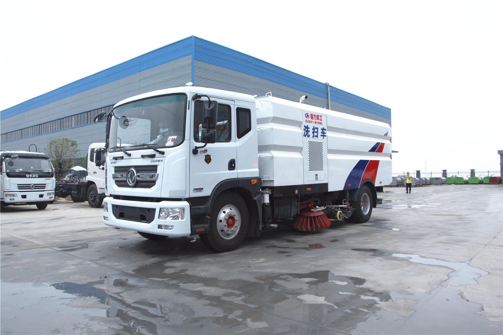 国六D9洗扫车配置介绍环卫保洁