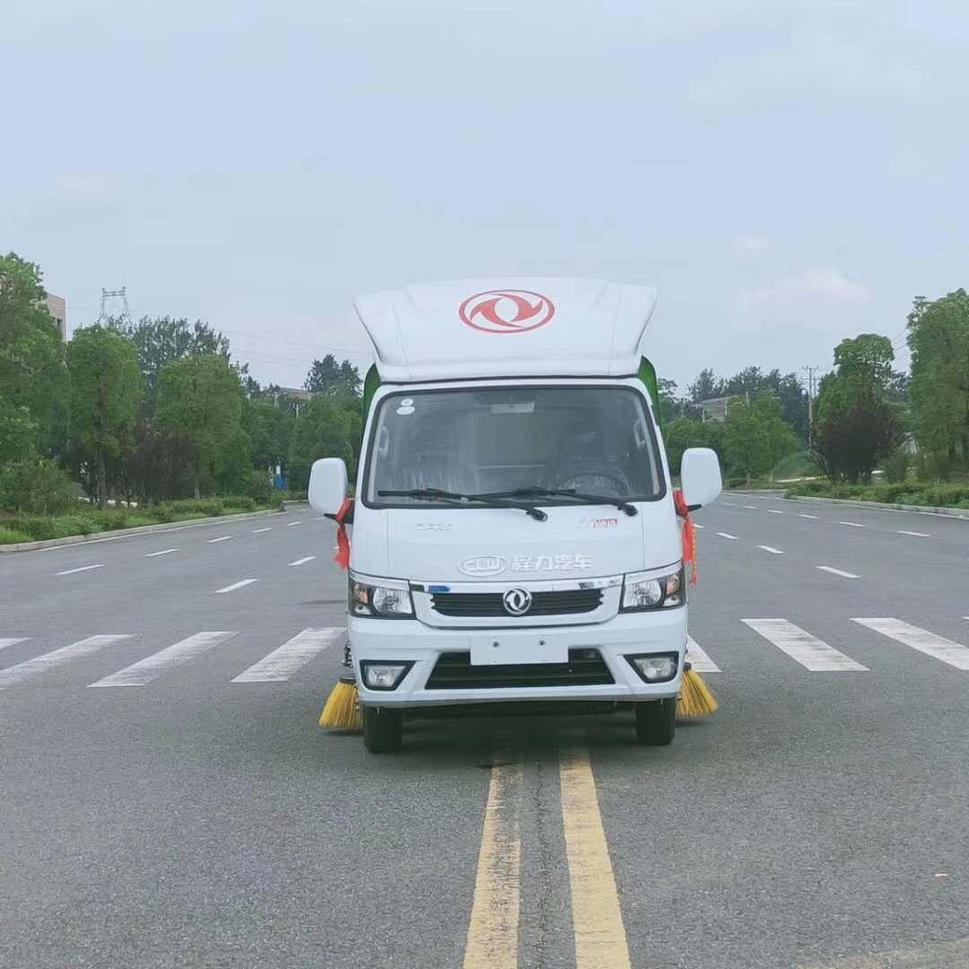 东风国六小型扫路车图片