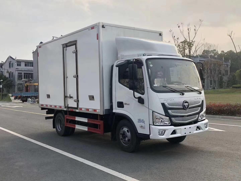 福田欧马可S3冷藏车图片