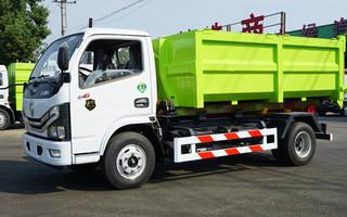 东风D6勾臂垃圾车图片