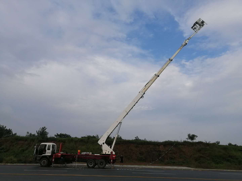 二手45米高空作业车/二手45米带小臂高空作业车/二手德国进口高空作业车
