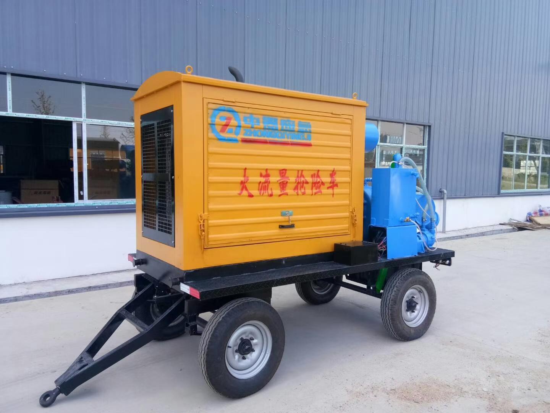 節能拖掛式防洪搶險泵車圖片